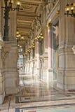 Balcão do teatro da ópera de Garnier Fotografia de Stock Royalty Free