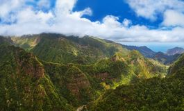 Balcoes levada panorama - Madeira Portugal Stock Photo