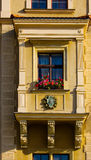 Balcon antique de la Pologne Images stock