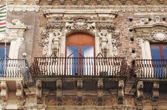 Balcon baroque Photographie stock libre de droits