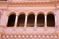 Balcon célèbre d'Evita, Buenos Aires Photographie stock