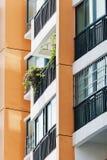 Balcon d'appartement photos stock