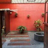 Balcon d'intérieur Photos stock