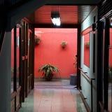 Balcon d'intérieur Photo stock