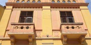 Balcon dans Bitola Macédoine Photographie stock libre de droits