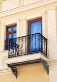 Balcon dans le bitola, Macédoine Photographie stock