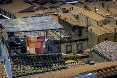 Balcon de dessus de toit Images libres de droits