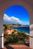 Balcon De Europa, Malaga. Spain Royalty Free Stock Images