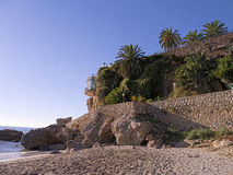 The Balcon de Europa in Nerja Andalucia Spain Royalty Free Stock Images