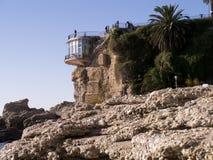 The Balcon de Europa in Nerja Andalucia Spain Stock Photos
