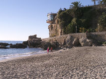 The Balcon de Europa in Nerja Andalucia Spain Stock Images