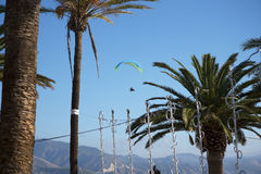 Balcon de Europa in Nerja Andalusien Spanien Stockfotos