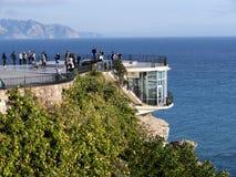 Balcon de Europa in Nerja Andalusien Spanien Stockfoto