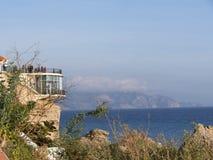 Balcon de Europa in Nerja Andalusien Spanien Lizenzfreie Stockfotos