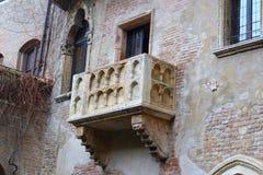 Balcon de Juliet à Vérone Photographie stock libre de droits