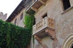 Balcon de Juliet Image stock