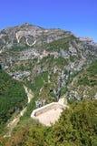 Balcon de la Mescla, Gorges du Verdon. Provence. Royalty Free Stock Image