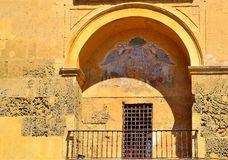 Balcon de los angeles Mezquita Obrazy Stock
