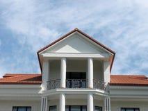 Balcon de maison Photo stock