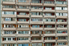 Balcon de maison de périphéries Images stock