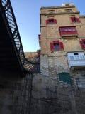 Balcon de Malte Image stock
