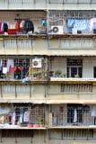 Balcon de résidence dans les sud de la Chine Photo libre de droits