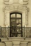 Balcon de Vieux Monde à San Diego Photographie stock