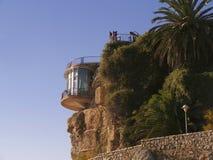 Balcon Del Europa in Nerja, ein Erholungsort auf Costa Del Sol nahe Màlaga, Andalusien, Spanien, Europa Lizenzfreie Stockfotografie