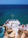 Balcon du méditerranéen, Benidorm, Espagne photos libres de droits
