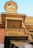 Balcon en Rhodes Photo libre de droits