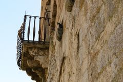 Balcon italien Photographie stock