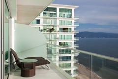 Balcon moderne de logement image libre de droits