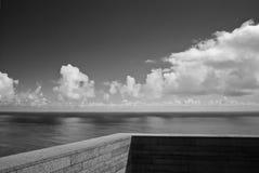 Balcon rêveur Image libre de droits