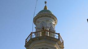Balcon supérieur d'une tour banque de vidéos