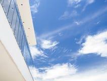 Balcon sur l'horizon Photos stock