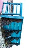 Balcon très vieux de vintage de 19ème siècle, Photos libres de droits