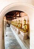 Balcon traditionnel thaïlandais de Bouddha Photographie stock libre de droits