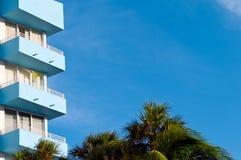 Balcon tropical d'art déco photographie stock