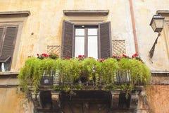 Balcon vert Photos libres de droits
