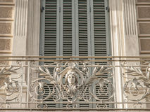 Balcone a Barcellona Fotografie Stock