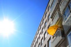 Balcone caldo di estate Fotografia Stock Libera da Diritti