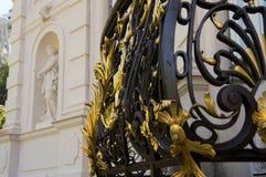 Balcone del palazzo di Linderhof, Germania Immagini Stock
