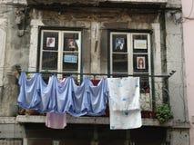 Balcone del parrucchiere Fotografia Stock Libera da Diritti