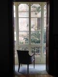Balcone della finestra in Spagna Immagine Stock