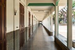 Balcone della scuola Immagini Stock