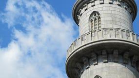 Balcone della torre Fotografia Stock Libera da Diritti