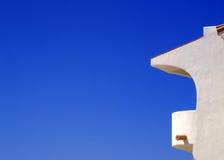 Balcone della villa Fotografia Stock Libera da Diritti