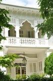 Balcone della villa Fotografie Stock Libere da Diritti