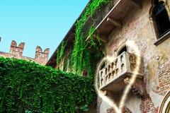 Balcone di amore Fotografia Stock Libera da Diritti