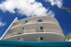 Balcone di art deco Fotografie Stock Libere da Diritti